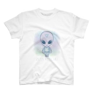 Zeta Reticuli(ゼータ・レチクル星人) T-shirts