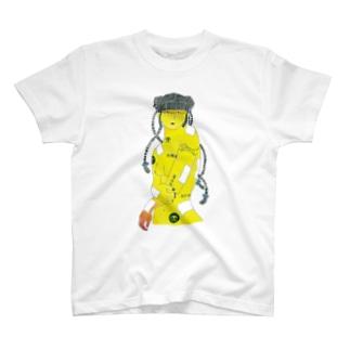 【アクリル画】 タイガーバーム娘。 T-shirts