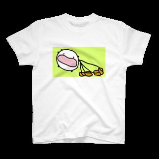 ダイナマイト87ねこ大商会の唐揚げを多頭飼いするねこです T-shirts