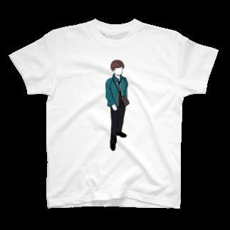 だいとの棒立ち T-shirts