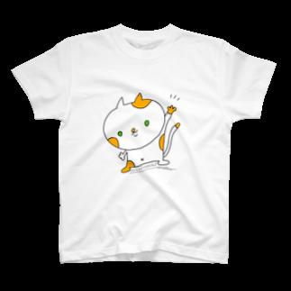 🐱Nico ART🐱のハイハイにゃん! T-shirts