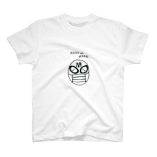 マスクonマスク T-shirts