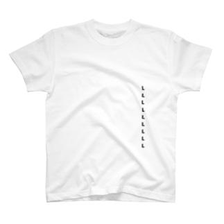 憧れのLサイズ T-shirts