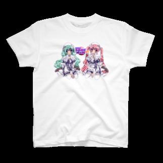 𝓎𝓊𝒾'𝓈 𝑜𝓃𝓁𝒾𝓃𝑒 𝓈𝒽𝑜𝓅のすーぱーめいど るうとみう T-shirts