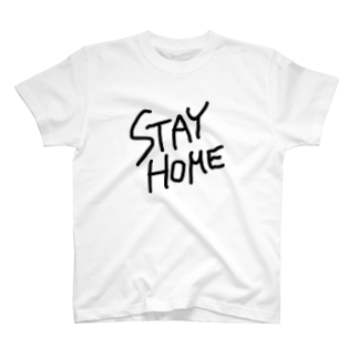 c_girlのSTAY HOME T-shirts
