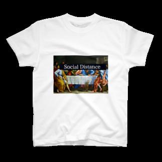 TiT_のsocial distance T-shirts