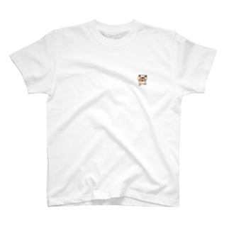 haco_suzuriのうっかりパグ T-shirts