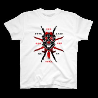 ゴシック屋↣↣ハルの特攻JK(両面プリント) T-shirts