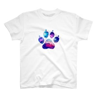 トリッキーの足跡を残して2 T-shirts