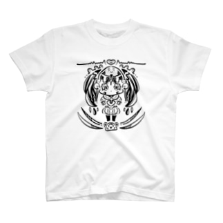 プラトン3 永遠を無限にだよ。のドロップCATガール。 T-shirts