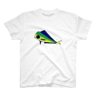 ゆるかわいい「しいら」 T-Shirt