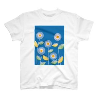 米吉のflower T-shirts