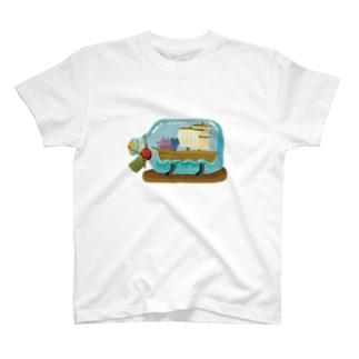 小さな旅 T-shirts