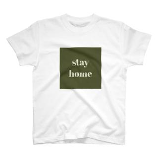 ユイのstay home2020 T-shirts