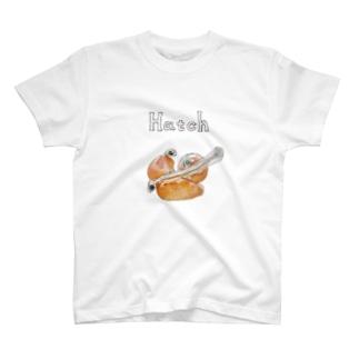 サケ孵化仔魚と発眼卵 T-shirts