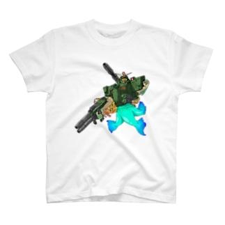 フルアーマーアマビエ T-shirts