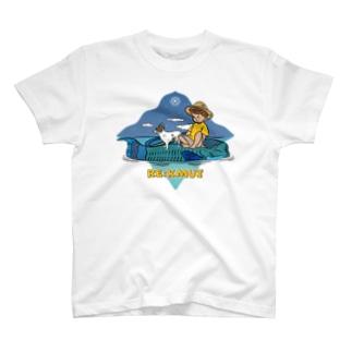 Re:kmui Fish Cruising 白T T-shirts