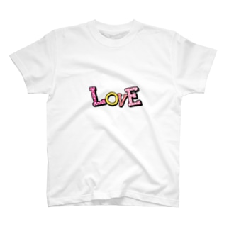 カラフルロゴ[LOVE] T-shirts