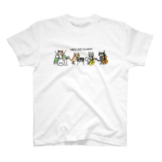 ネコジャズカルテット T-shirts