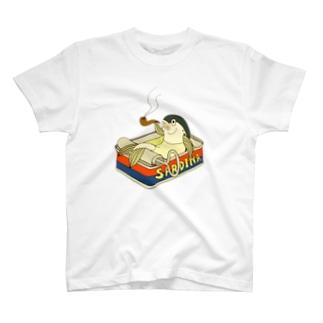 オイルバス・サーディン T-shirts