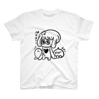 3匹のいきもの T-shirts