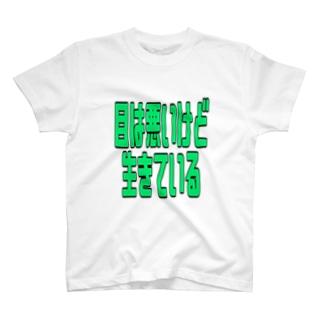 ニーサ公式の視力両目0.01以下だけど。 T-shirts