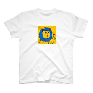 あきらんどのライオン T-shirts