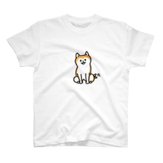 NENDOSANのしばいぬ T-shirts