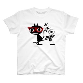 スケボーでGO!! T-shirts