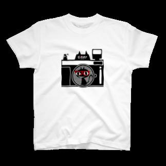 キャッティ(オフィシャル)ネコ好き集まれ!!の僕専用のカメラを紹介 T-shirts