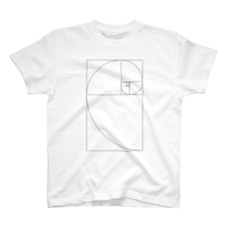 Fibonacci_Blocks T-shirts