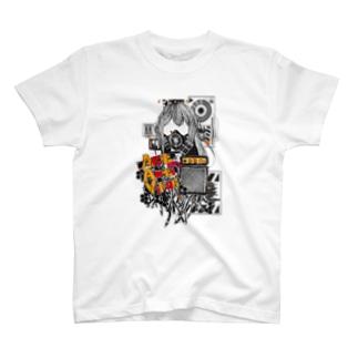 Act Anti Virus Tシャツ Aタイプ T-shirts