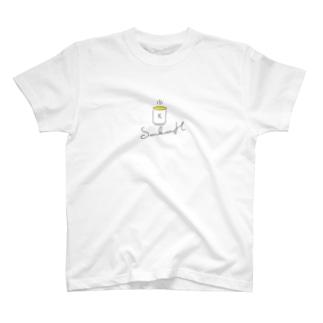 光る茶シリーズ T-shirts