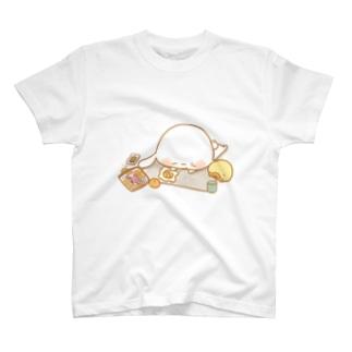 うさきちとぴよすけ「休憩」 T-shirts
