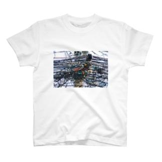 石山蓮華のタイの引き留め具 T-shirts