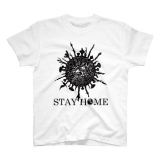 STAY HOME -月蝕因子- T-shirts