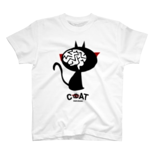 キャッティ(オフィシャル)ネコ好き集まれ!!のレントゲン写真 T-Shirt