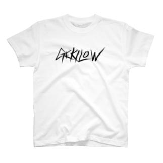 GEKILOW 黒字type T-shirts