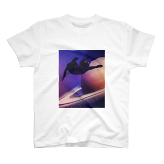 necovepp in da shoppのspace is the place T-shirts