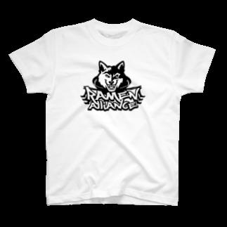 TOYO_3POのRAMEN ALLIANCE T-shirts