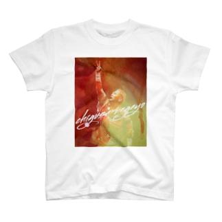 長与千種の『赤いイナズマ』 T-shirts