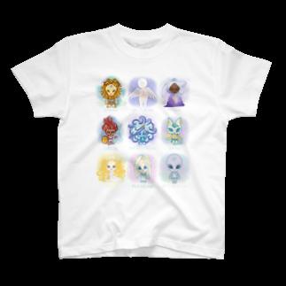 alpacca-creativeのThe Starseed(ザ・スターシード) T-shirts