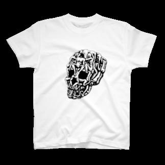 シェノノノのSex Skull T-shirts