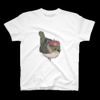 ㍻わらびモッチャの私、メジロは春の訪れをお知らせします。 T-shirts