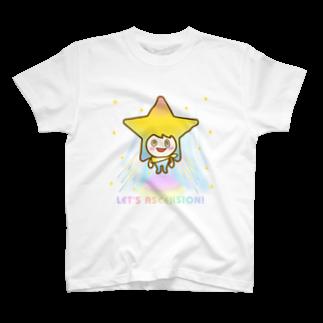 alpacca-creativeのステラちゃん☆【アセンション】 T-shirts
