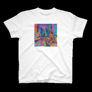 ヨネコ備忘録のneon T-shirts