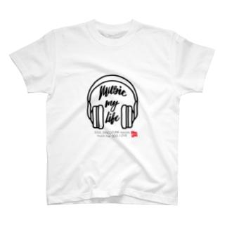 SOUL LOVE ヘッドホン T-Shirt