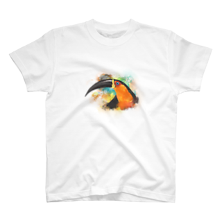 砂と鵜のオオハシさん T-shirts