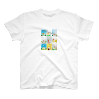 HARA_PEKOのクリームソーダ  T-shirts