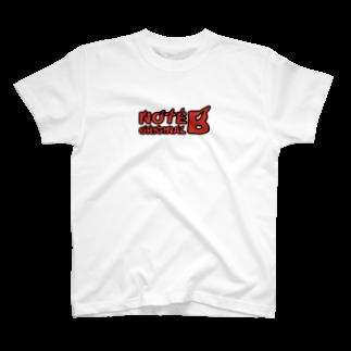 NOTE BのFIRE T-shirts